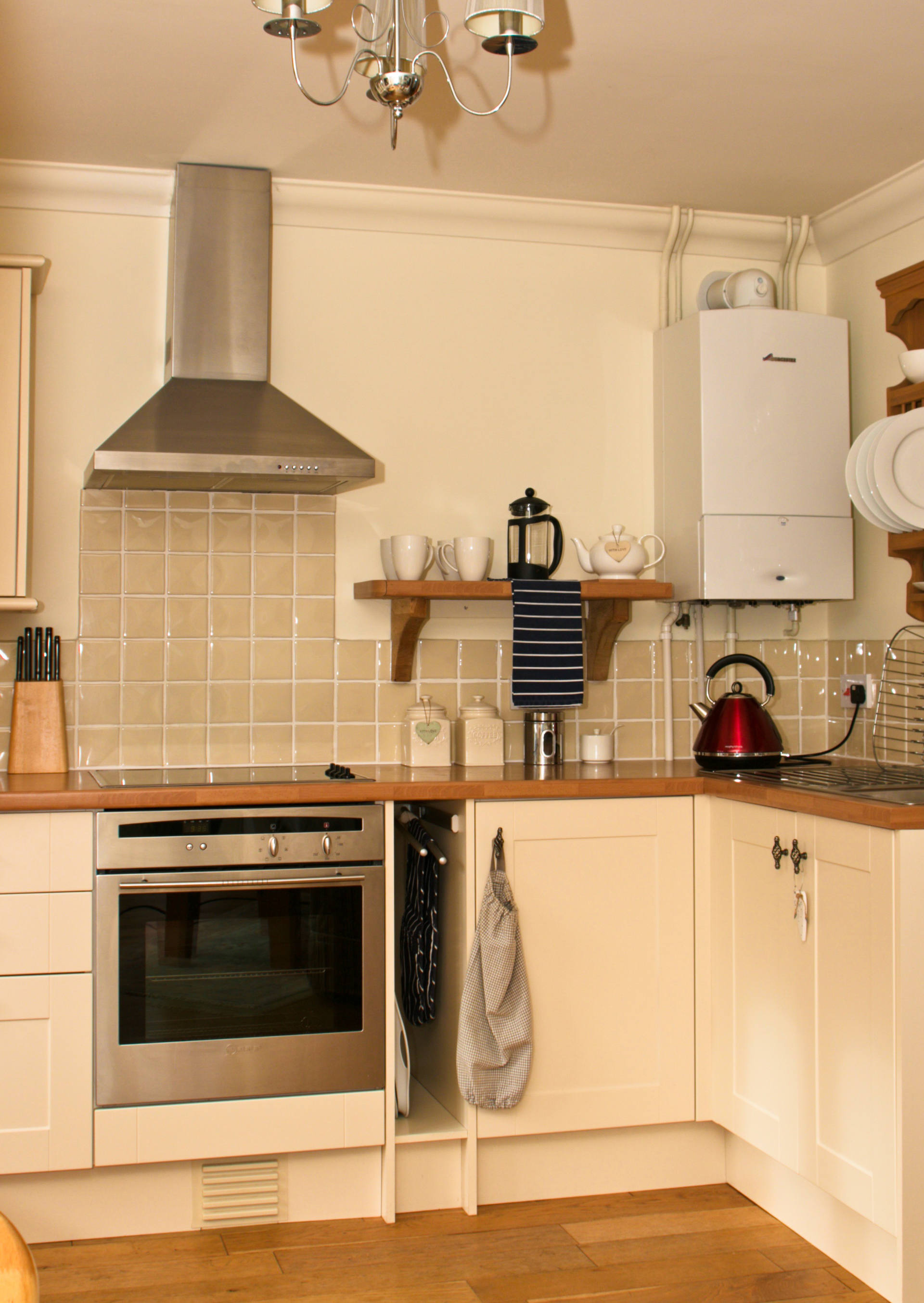 Kitchen amenities and facilities.