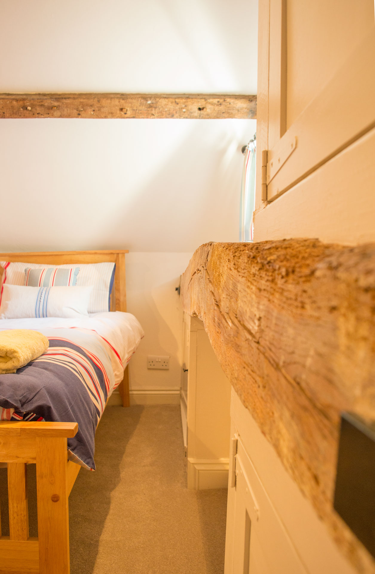 8-guests holiday rental in the town centre of Holt.