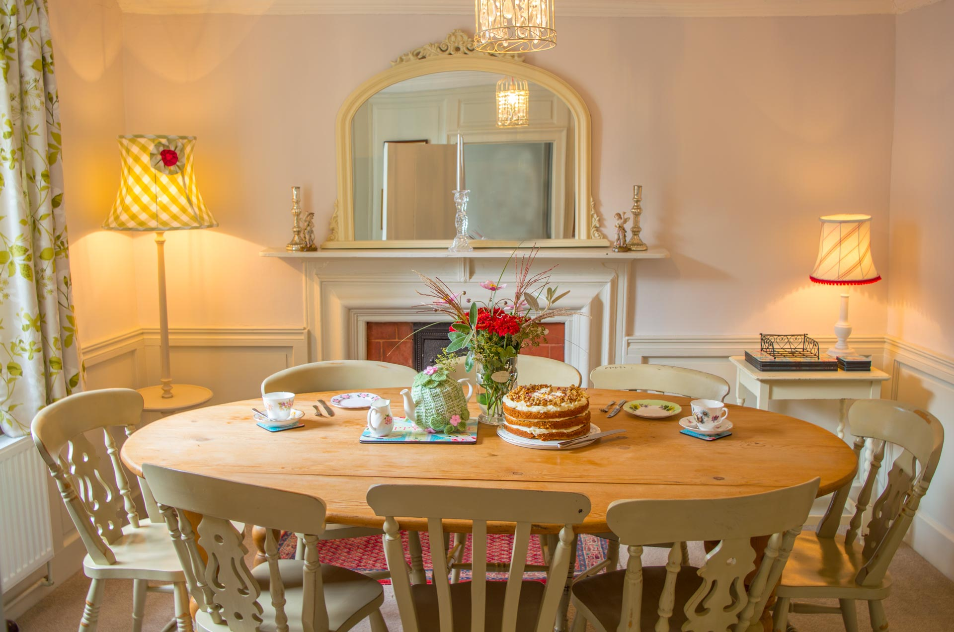 The Old Paul Pry family dining table.
