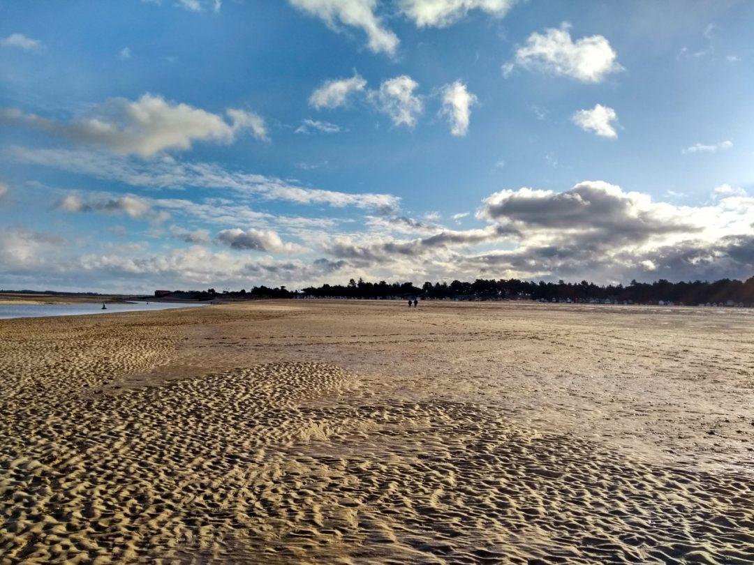 Wells-Next-The-Sea sandy beach.