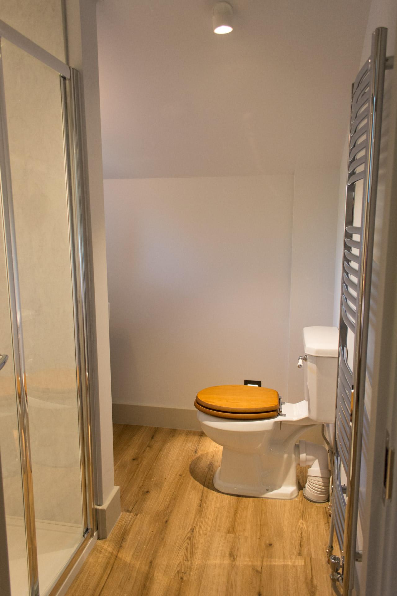 Boathouse Barn toilet.