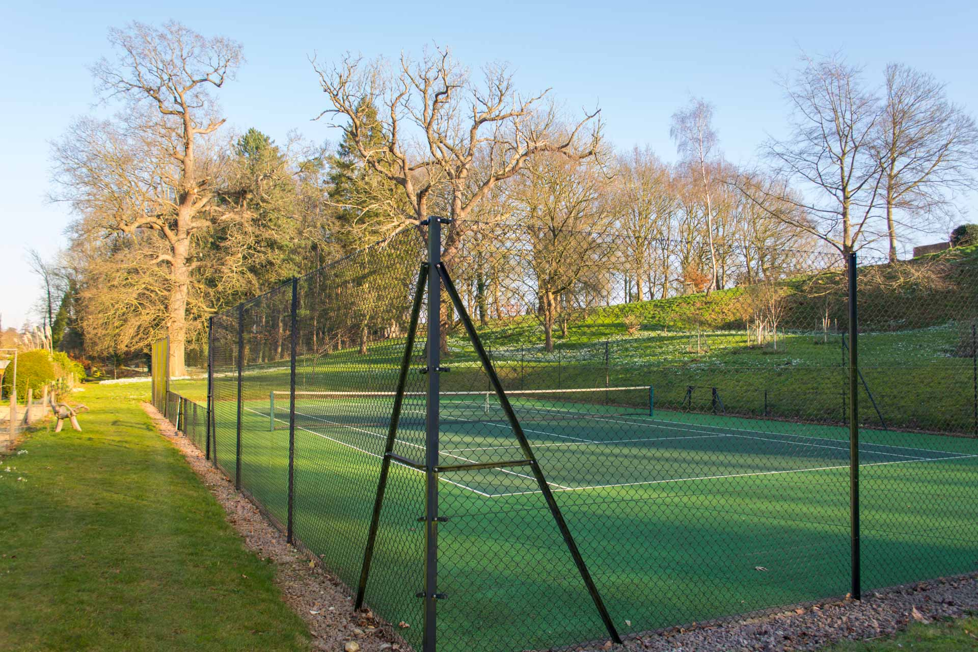 tennis court, great for family holidays.