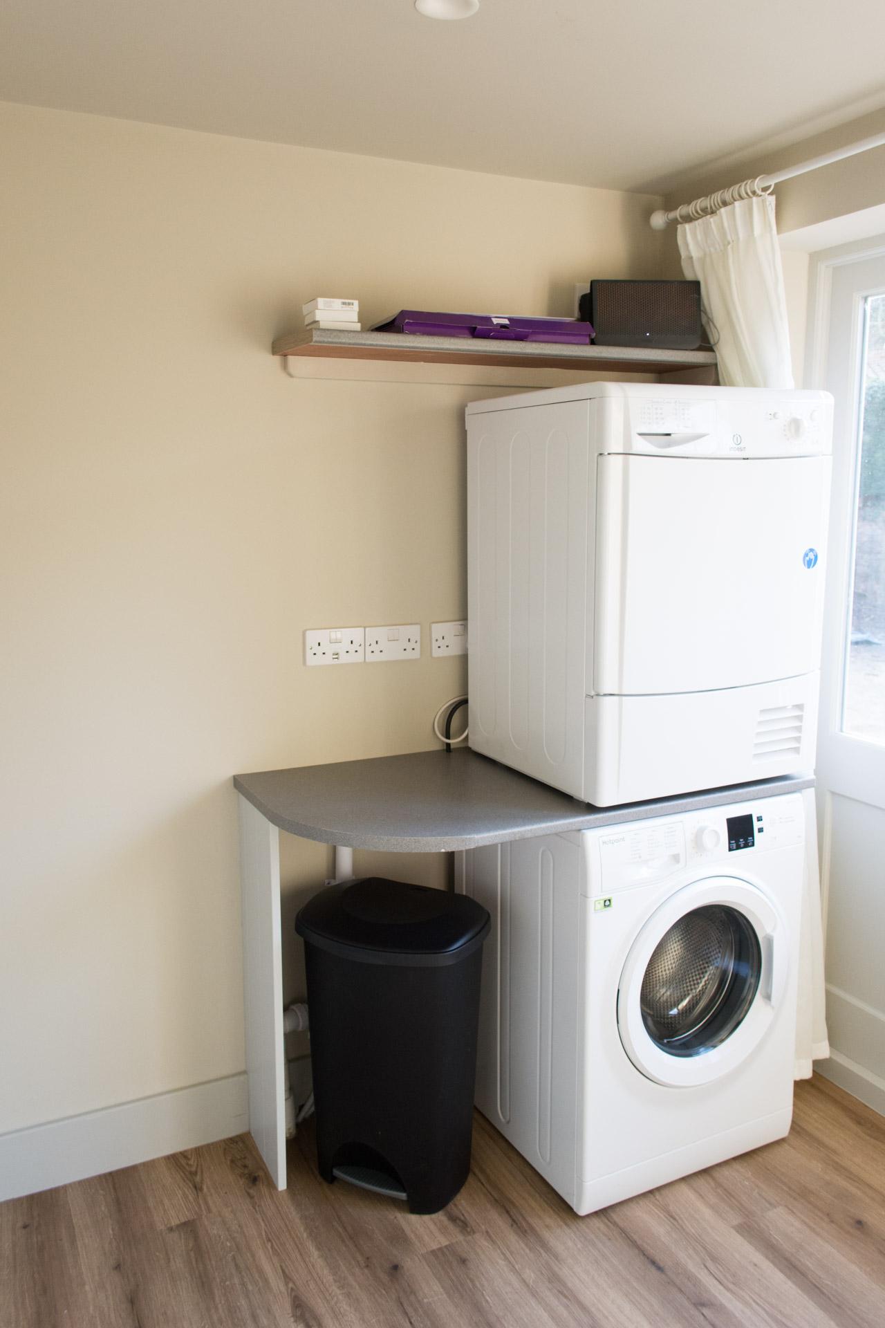Washing machine and white goods.