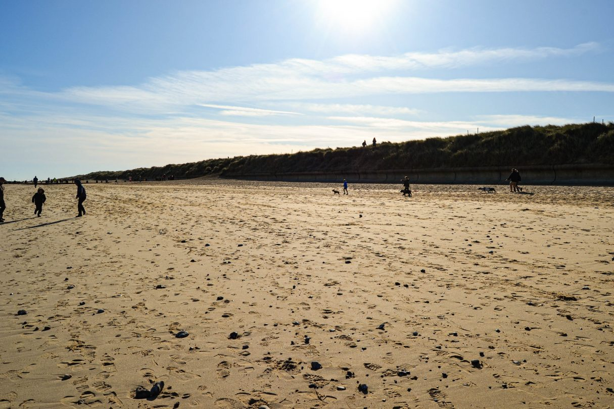 Pet-friendly beach Horsey Gap is a terrific beach to take your pets in the summer months!
