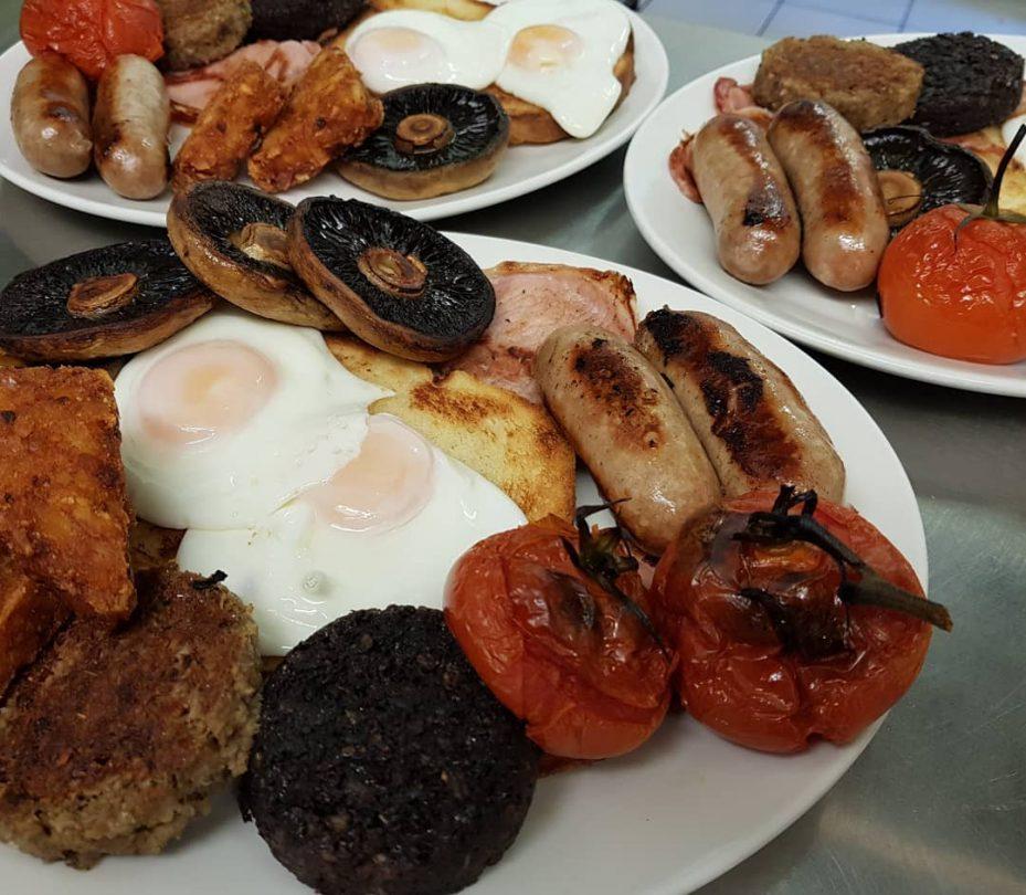 Norwich's The Street Cafe English fried breakfast.