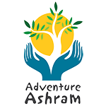 Adventure Ashram logo displayed on our website to show visitors the charity we support